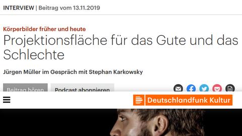 Jürgen Müller im DLF-Interview zur Jahrestagung