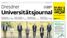 uNIJOURNAL Titelseite vom 8. September 2020