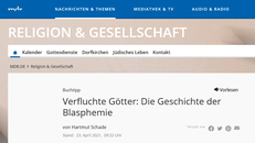 Screenshot der Überschrift des Online-Artikels