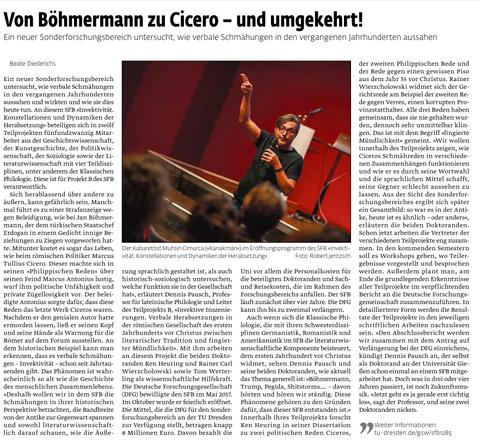 Artikel des Universitätsjournals der TU Dresden