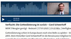 Screenshot der Überschrift des Online-Beitrages