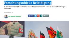 Screenshot des Online-Artikels