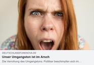Pöbeln, schimpfen, haten Unser Umgangston ist im Arsch, Deutschlandfunk Nova