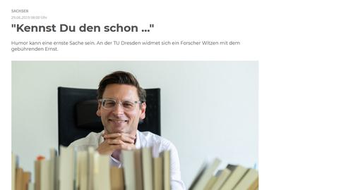 Lars Koch in der Sächsischen Zeitung vom 29.6.2019