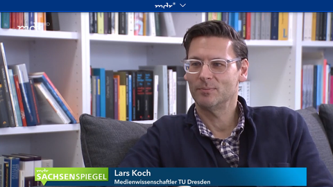 Lars Koch im Interview mit dem mdr