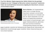 """""""Chemnitz: 'Leute agieren unglaublich enthemmt'"""", ein Interview mit Marina Münkler im NDR  vom 27.08.2018"""