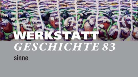Screenshot der Website der Zeitschrift Werkstatt Geschichte. Titelleiste mit wechselnden Bildern