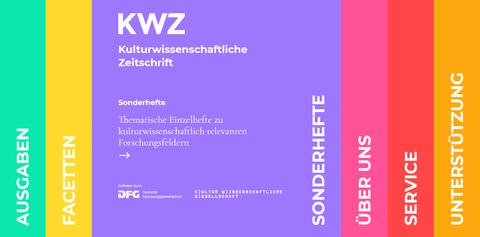 Übersicht über die Struktur der KWZ, hervorgehoben: Die Sonderhefte