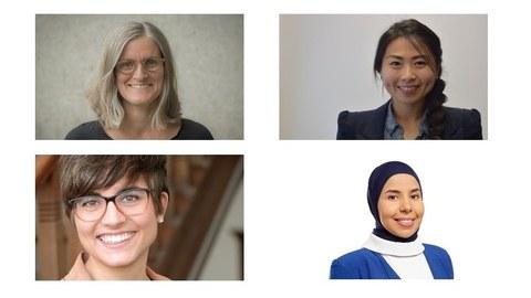 Fotos der Projektmitarbeiterinnen