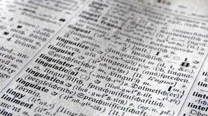 """""""Linguistics"""": Eintrag in: Klatt, Edmund (1910): Muret-Sanders Enzyklopädisches englisch-deutsches und deutsch-englisches Wörterbuch. Hand- und Schulausgabe. Teil I: Englisch-deutsch. Berlin: Langenscheidtsche Verlagsbuchhandlung"""