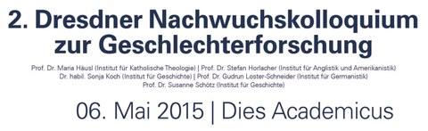 2. Dresdner Nachwuchskolloquium