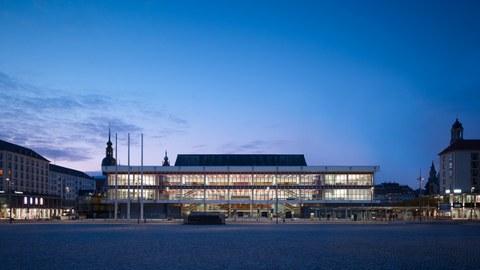 Kulturpalast Dresden Außenansicht