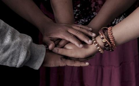menschliche Hände