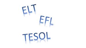 EFL TESOL ELT