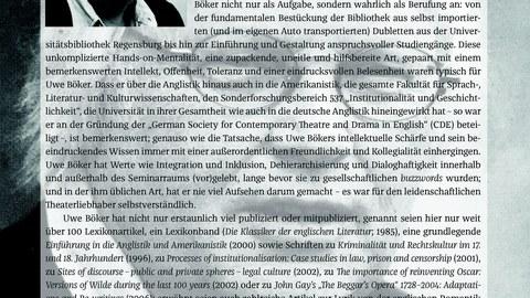 Nachruf Uwe Böker