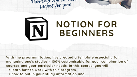 Flyer_Notion for Beginners