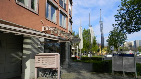 Eingang Wiener Straße 48