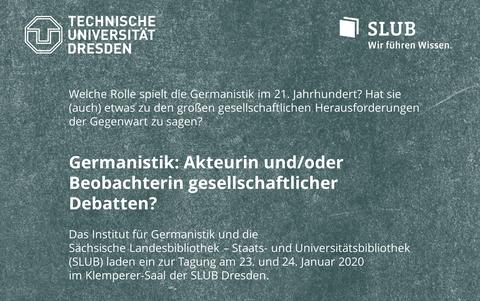Germanistik Institutstagung