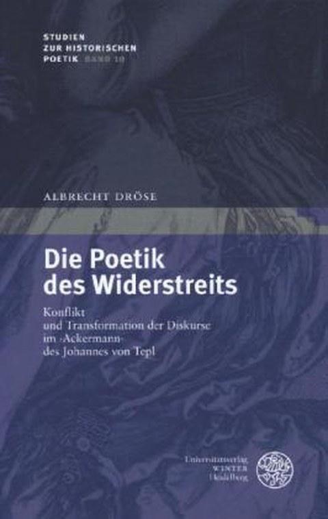 Buchcover: Die Poetik des Widerstreits