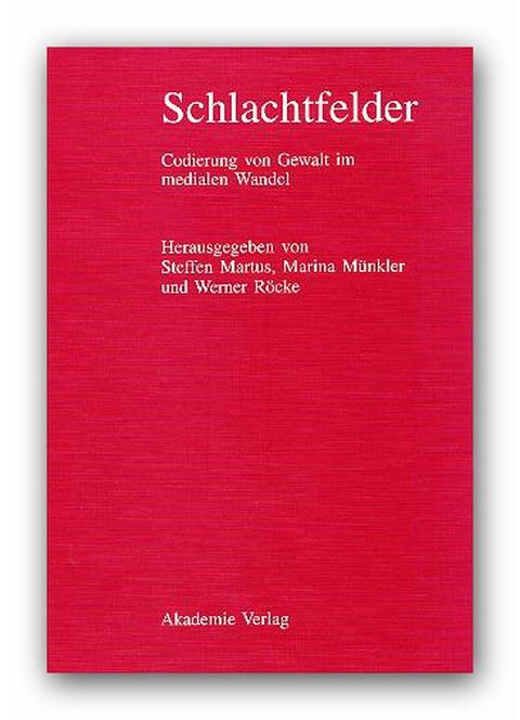 Buchcover: Schlachtfelder