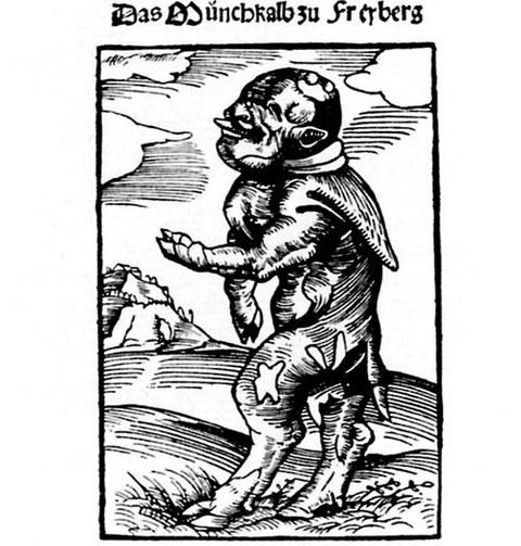 Lucas Cranach & Martin Luther: Mönchskalb zu Freiberg