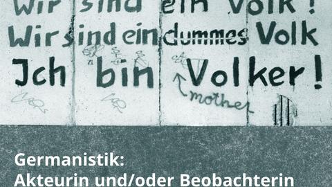 [Institutstagung] Germanistik: Beobachterin und/oder Akteurin?