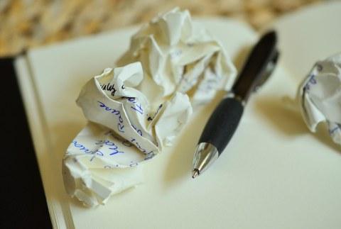 Stift und Zettel