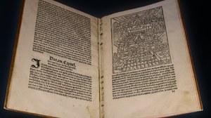 altes aufgeschlagenes Buch