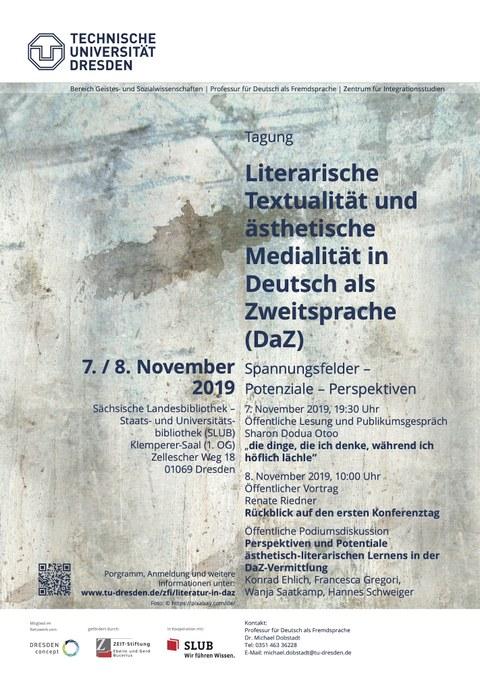Plakat Tagung November 2019