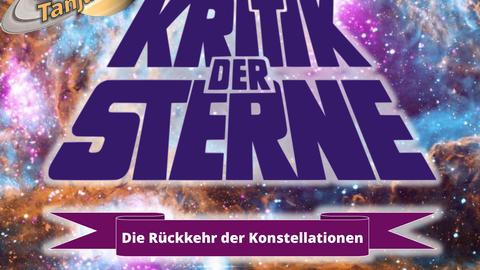 Plakat Vortrag Kritik der Sterne