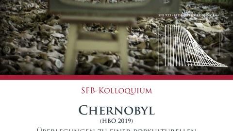 """Plakat zur Ankündigung des Vortrags von Prof. Koch am SFB 923 """"Bedrohte Ordnungen"""" am 10. Januar 2020"""
