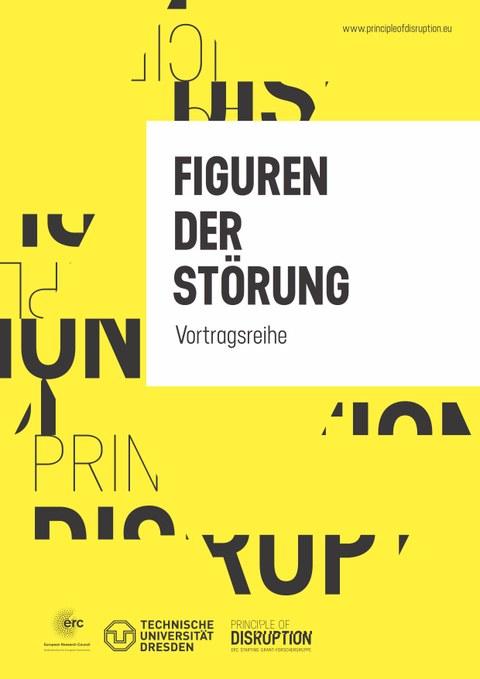 """Logo der Vortragsreihe """"Figuren der Störung"""""""