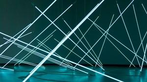 Lichtinstallation Netzwerk