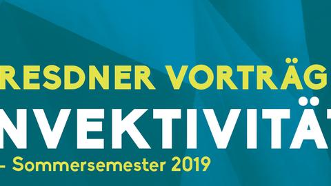 Logo Dresdner Voträge Invektivität Sommersemester 2019