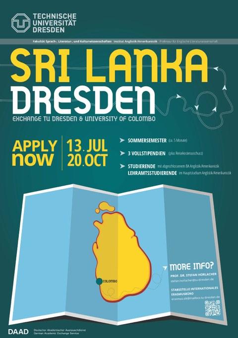 Werbeplakat Sri Lanka 2019_20