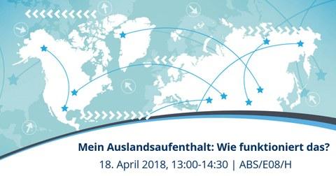 Infoveranstaltung Auslandsaufenthalt