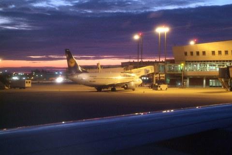 Dresden Flughafen Lufthansa