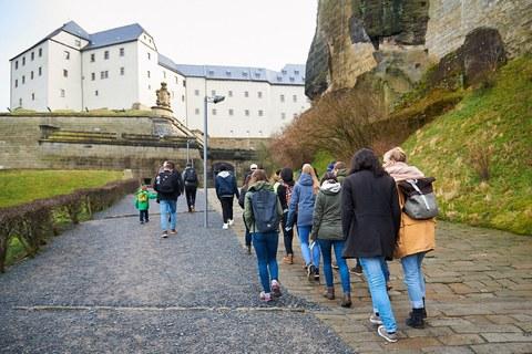 Ausflug nach Königstein