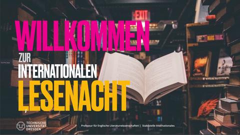 Willkommen zur internationalen Lesenacht!