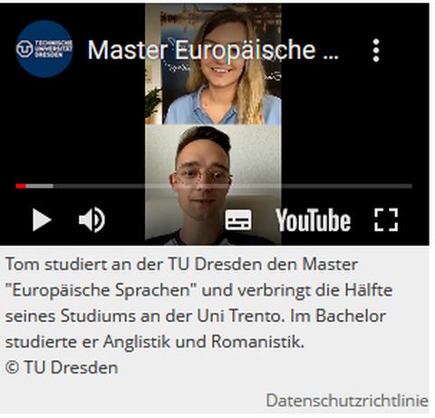 Youtube Screenshot Live Q & A zum Uni Tag
