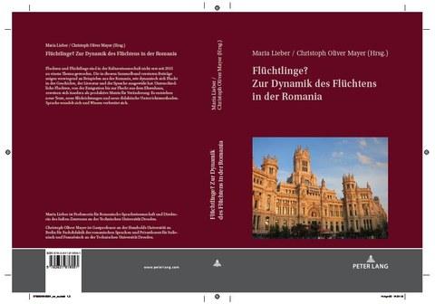 Cover Sammelband Flüchtlinge