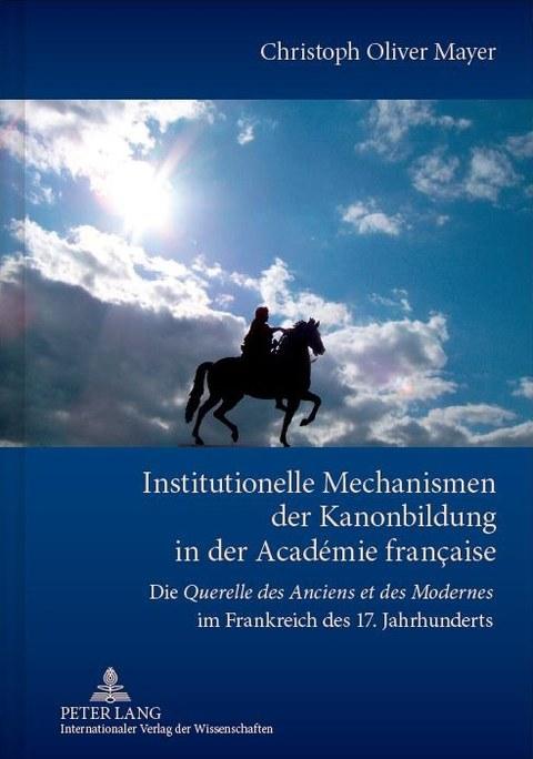 Institutionelle Mechanisimen der Kanonbildung