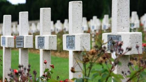 Kreuze für die Gefallenen des Ersten Weltkriegs