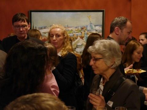 Fotoimpressionen vom Empfang nach der Feierlichen Eröffnung des Centrums Frankreich   Frankophonie an der TU Dresden am 16. Mai 2019
