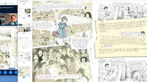 Ausschnitt aus der Digitalen Lesung von Alessandro Tota