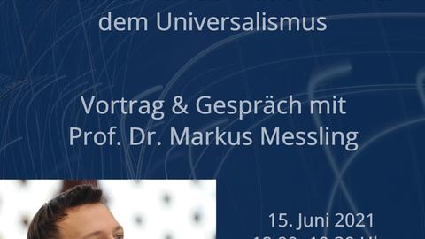 Gastvortrag Markus Messling