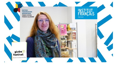 GLOBE|Dialogue mit Sarah Neis vom Deutsch-Französischen Bürgerfonds