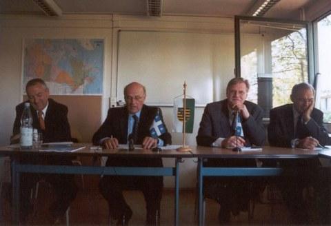 Besuch von Denis Bédard im Cifraqs 2006: Die Podiumsteilnehmer