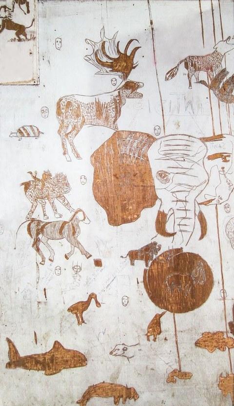 Zeichnung von Tieren