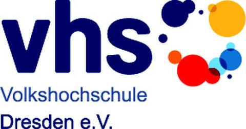 Logo der Volkshochschule Dresden e.V.